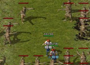 在1.80英雄连击中,战士与道士作战不容易